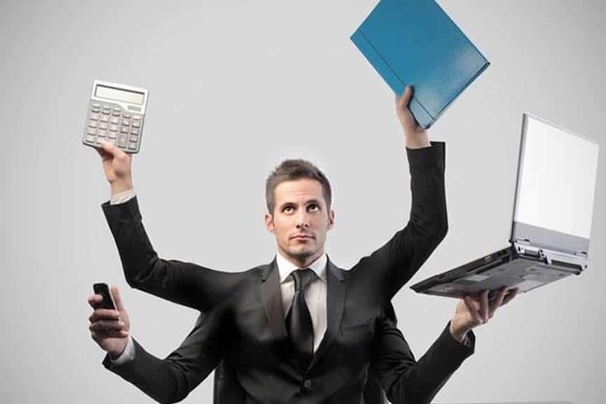 Multitasking im Vertrieb