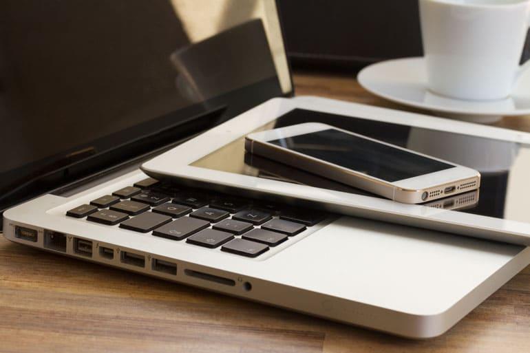Arbeitsgeräte - mobiles Arbeiten